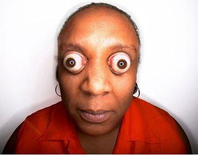 4 Big eyed Woman
