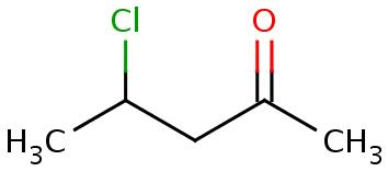 4-chloropentane-2-one clearly