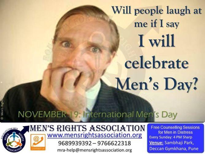 4 November 19 th International mens day