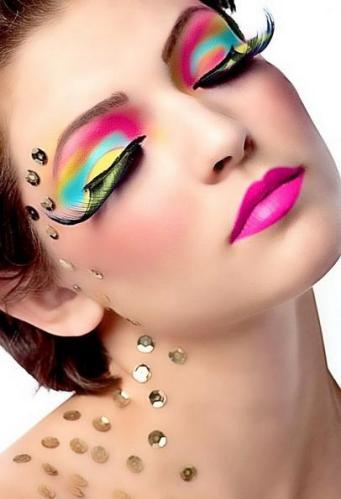 4 Pink eye makeup