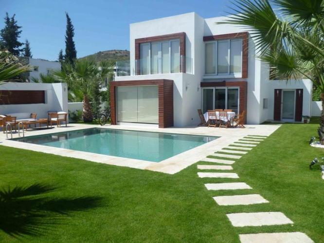 5 My private villa back view