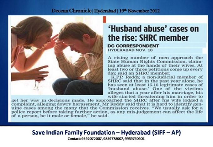 6 Husband abuse case on the rise