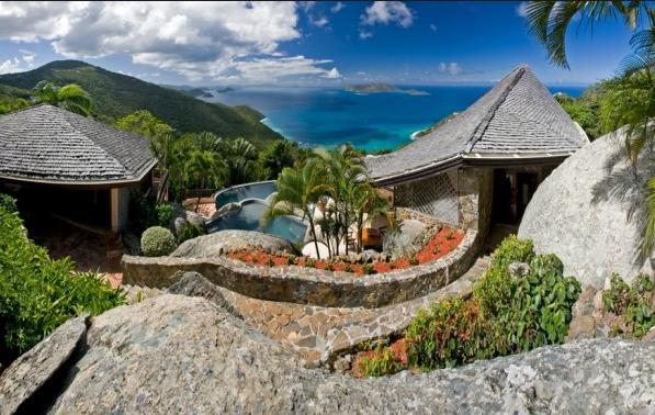7 Rocky villa garden