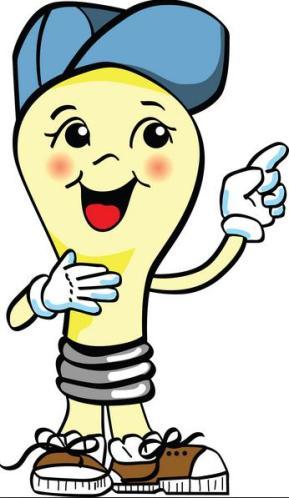 9 Bulb blue cap cartoon