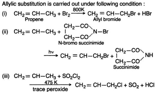 11 Allylic substitution examples
