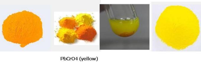 11 Na2CrO4 + Pb(CH3COO)2 PbCrO4 (yellow) + CH3COONa