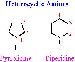 14 Heterocyclic Amines