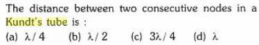 1c distance between 2 consecutive nodes