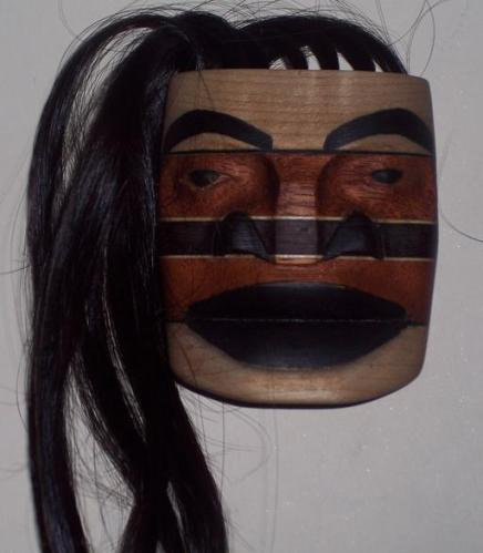 1c mask with long hair