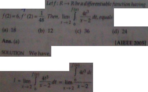 1g Leibnitz's Rule for Differentiation of Integrals