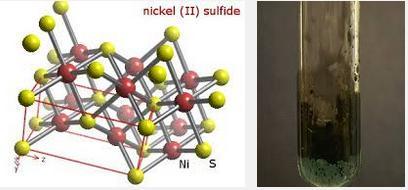 20 NiS is Black Mineral Millerite
