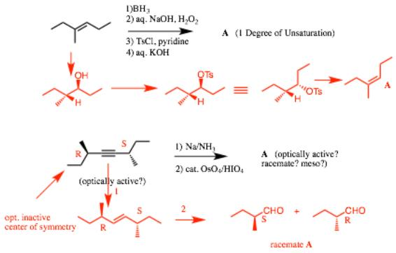 24 reactions of doublebond and triplebond compounds