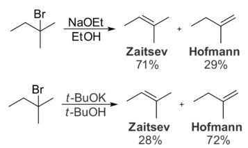 26c Zaitsev Saytseff rule