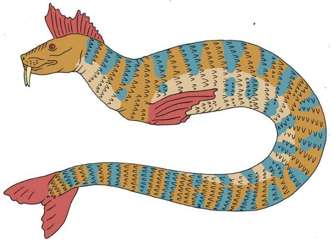 2a snake fish