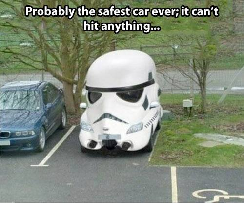 2b probably the safest car