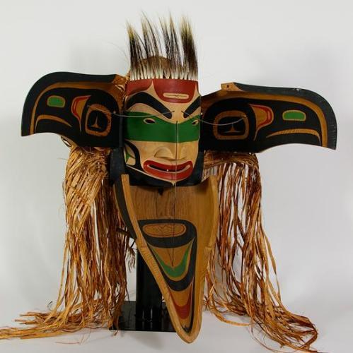 2d Big wooden mask