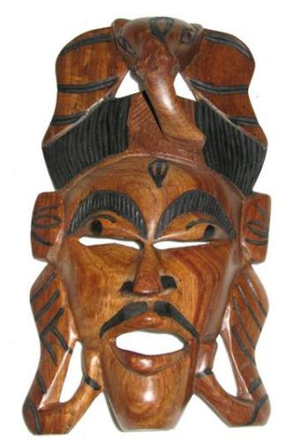 2g Wooden mask