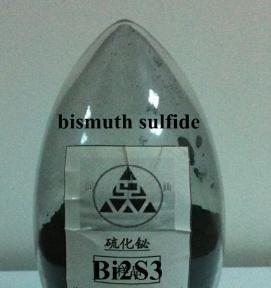 3 Bi2S3 Bismuth Sulfide is black