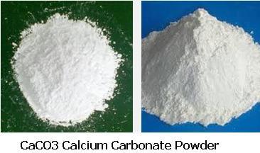 3 CaCO3 Calcium Carbonate powder is white