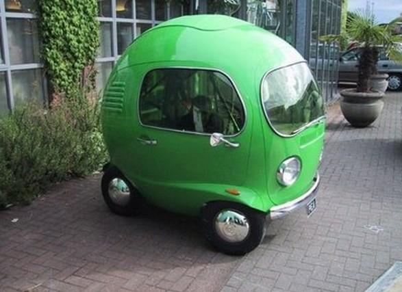 30a Green small car