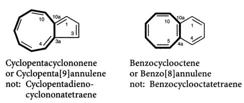 36 cyclopentacyclononene benzocyclooctane SKMclasses