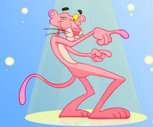 38a Pink cat