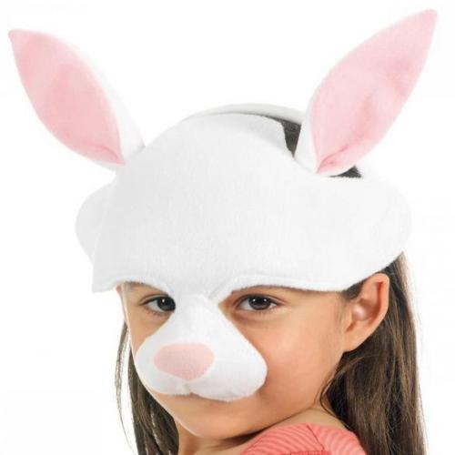 3b girl with rabbit mask