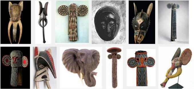 3g elephant masks