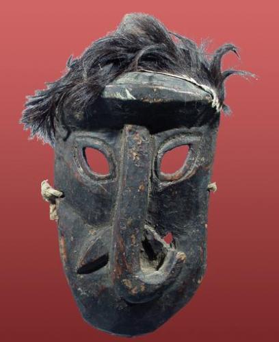 3k black elephant mask