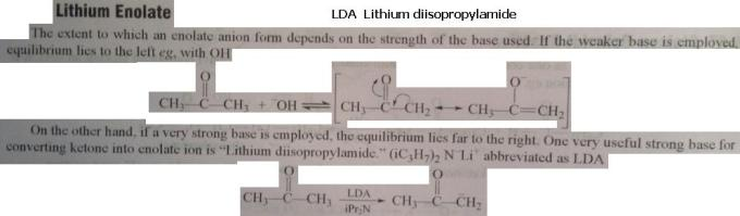 4 LDA Lithium diisopropylamide