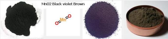 4 MNO2 Black Violet Brown colour