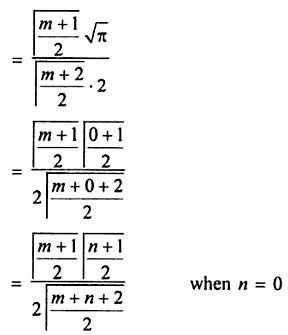 42 Find Sin to the power m X Cos to the power n in terms of Gamma