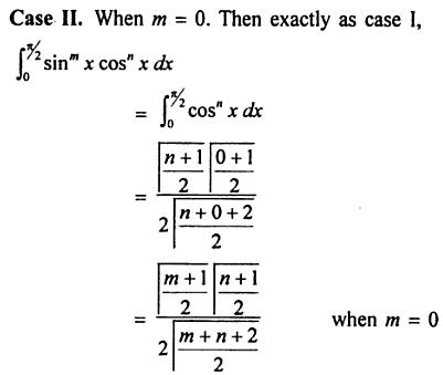 43 Find Sin to the power m X Cos to the power n in terms of Gamma
