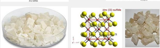 5 Na2ZnO2 + H2S ZnS (white) + NaOH