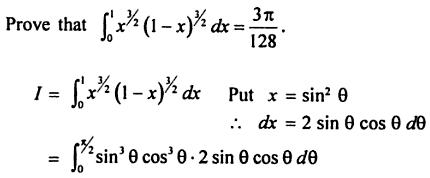 52 Find Sin to the power m X Cos to the power n in terms of Gamma