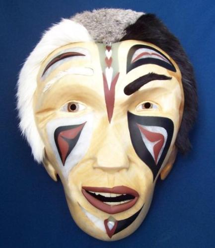 5b mask painted