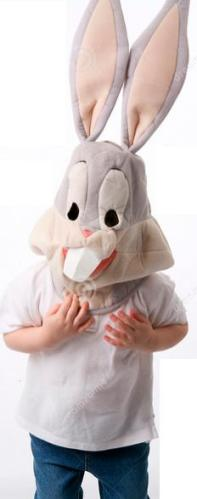 5b person with Rabbit mask