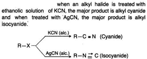 6 KCN and AgCN react differently