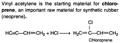 7 vinyl acetylene to chloroprene