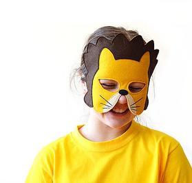 7b yellow Rabbit mask