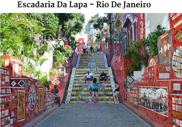 Escadaria Rio de Janeiro