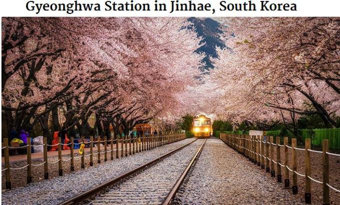 Gyeonghwa station Jinhae