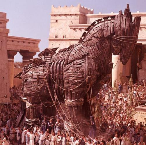 Horse of Trojan