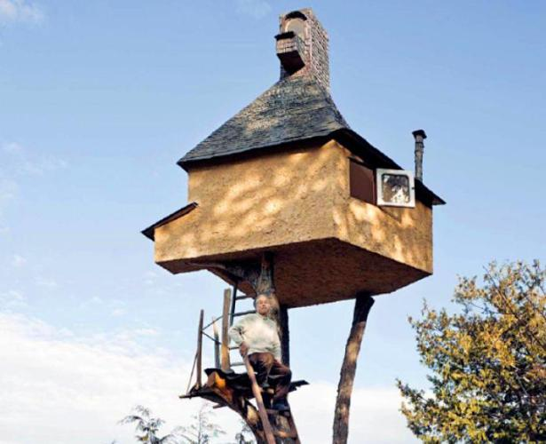 Japani Pagol er tree house