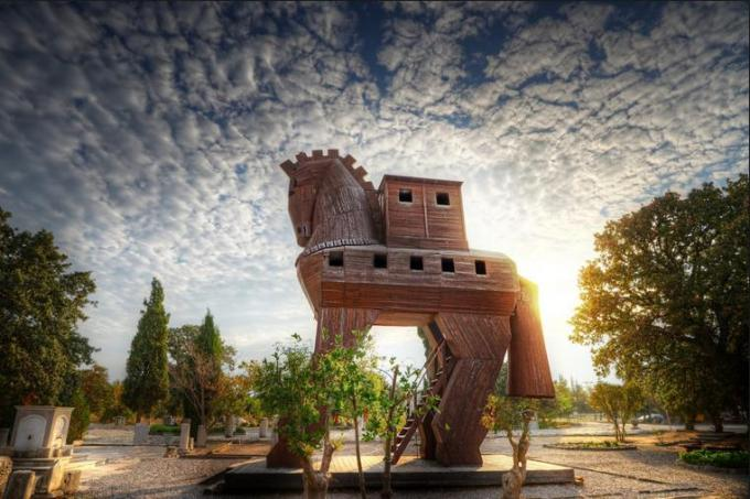 31s Horse house in Turkey