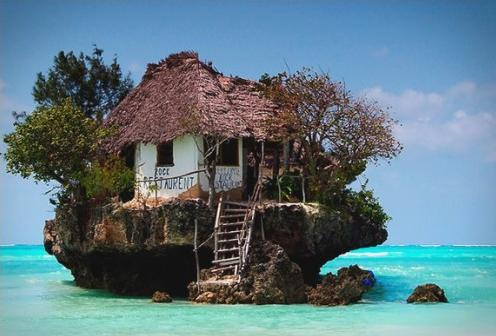 32c Rock restaurant Zanzibar