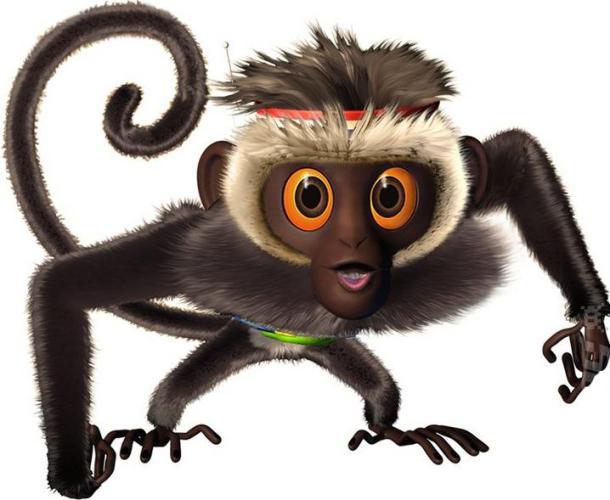 stunned monkey