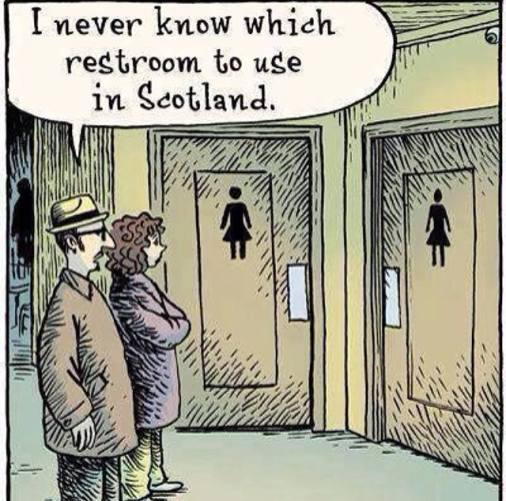 which loo to use in scotland