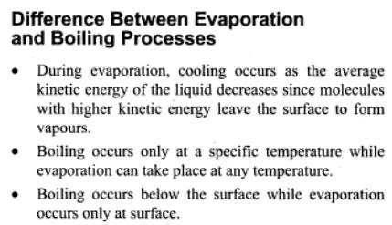 10a Evaporation and Boiling Processes