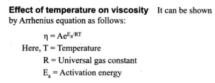 11a Effect of temperature on viscosity